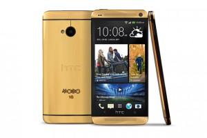 HTC One Gold - Guldpläterad mobiltelefon