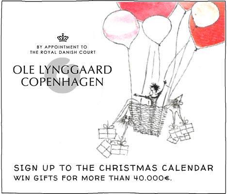 Jultävling 2013 med Ole Lynggaard Copenhagen – Vinn smycken för €40.000:-!