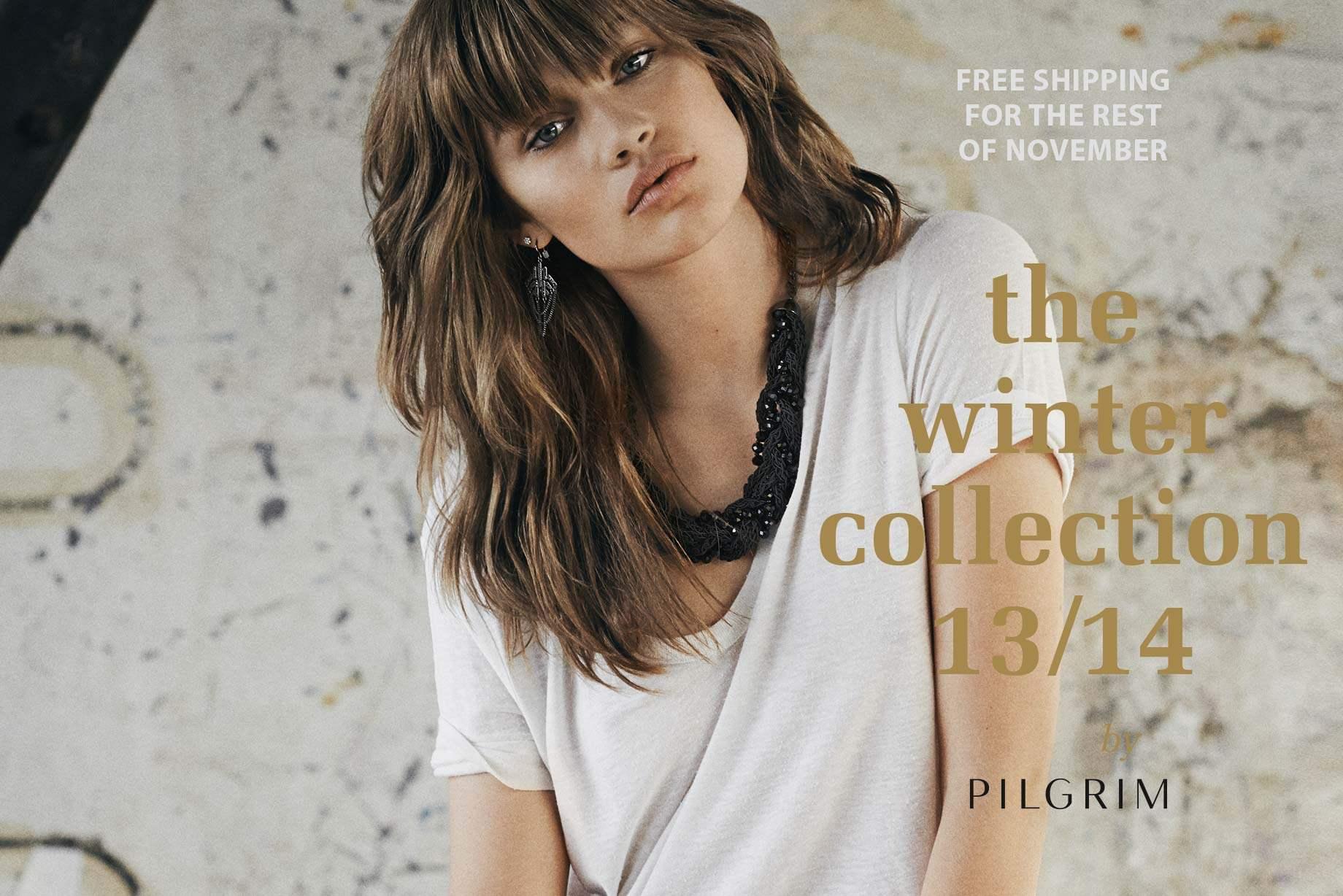 Erbjudande från Pilgrim Jewellery: Fri frakt under november