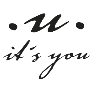 .u. it's you logotyp