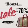 Upp till 70% rabatt hos Boozt.com