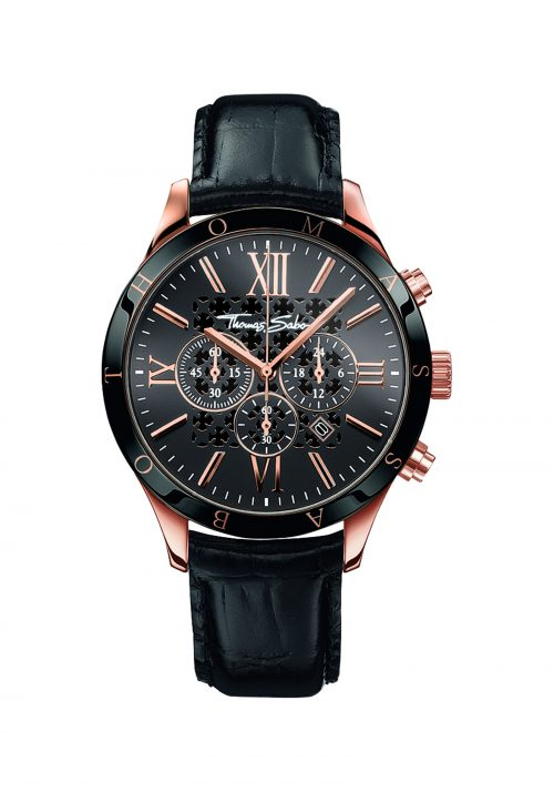 THOMAS SABO WA0186-213-203-43 Rebel Urban MEN'S WATCH REBEL URBAN
