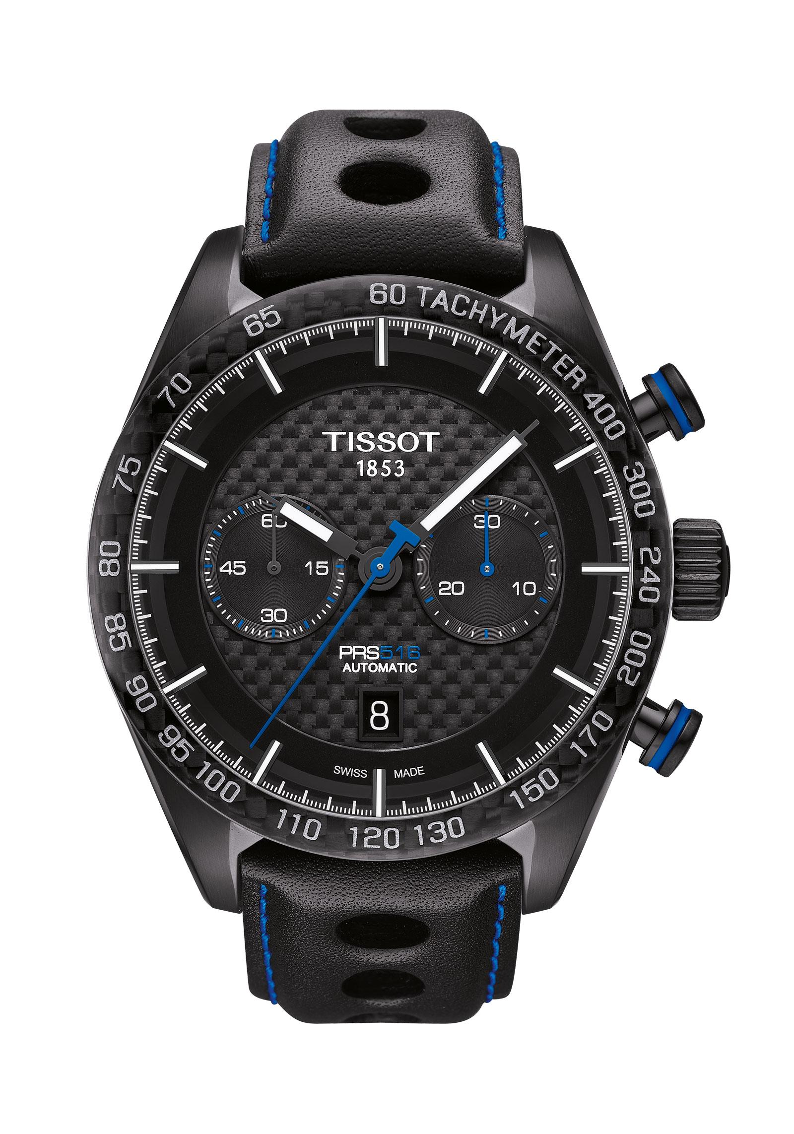 TISSOT T1004273620100 PRS 516 Automatic PRS 516/GR/CHRAC/PVD NOIR/C.NOIR/CARBONE