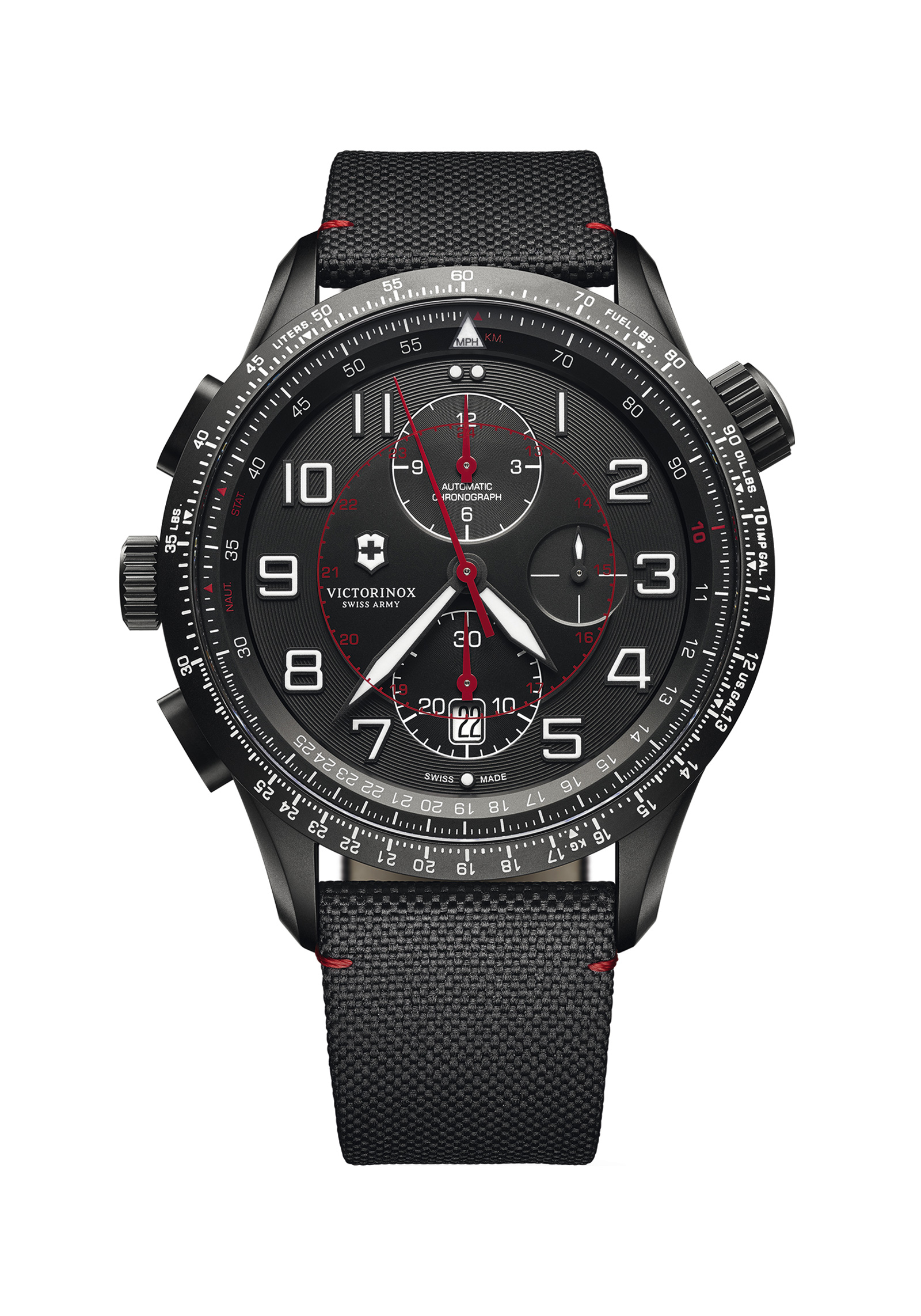 VICTORINOX 241716 Airboss Airboss Black Edition 45mm