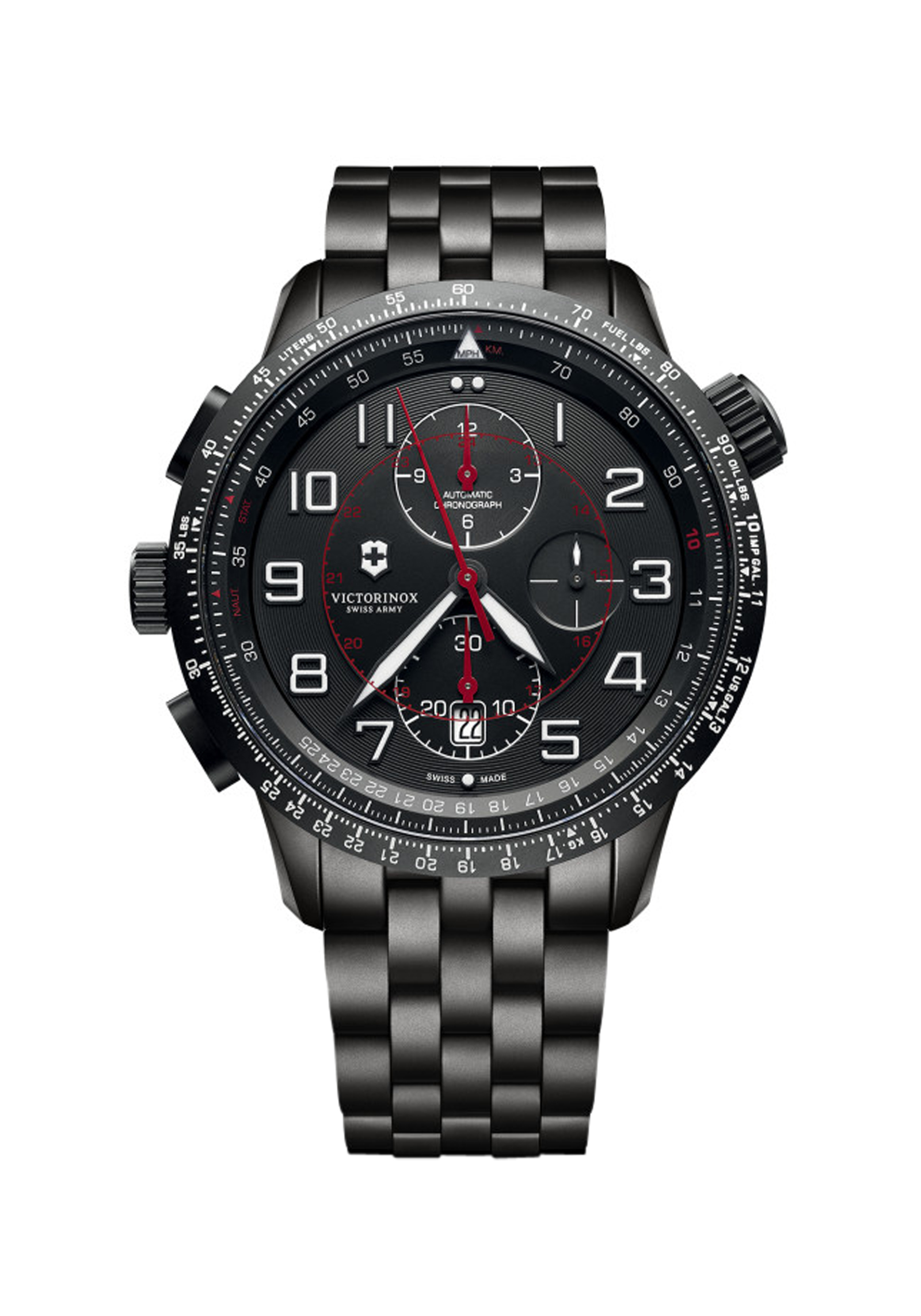 VICTORINOX 241742 Airboss Airboss Black Edition 45mm
