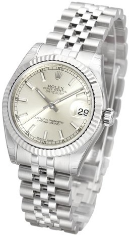 Rolex Datejust Lady 31 mm Damklocka 178274-0009 Silverfärgad/Stål Ø31 mm