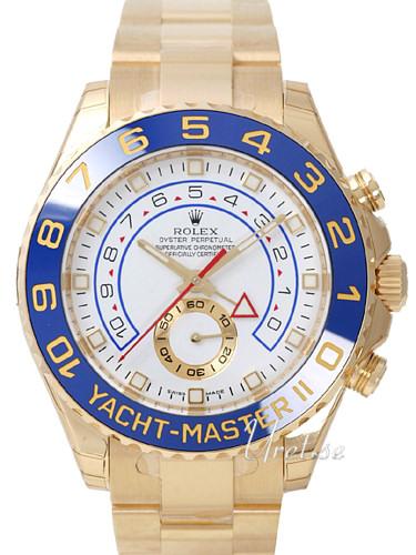 Rolex Yacht-Master Herrklocka 116688-0002 Vit/18 karat gult guld Ø44