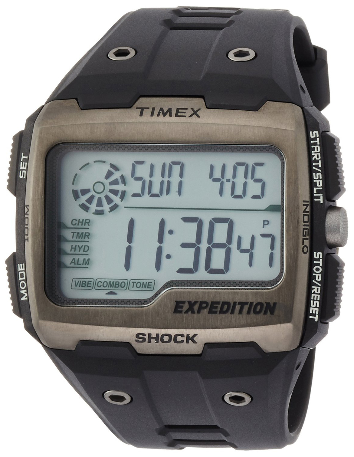 Timex Expedition Herrklocka TW4B02500 LCD/Gummi