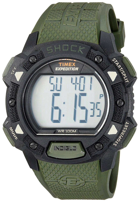 Timex Expedition Herrklocka TW4B09300 LCD/Resinplast Ø45 mm