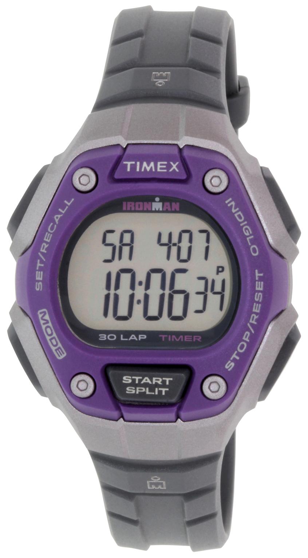 Timex Ironman Damklocka TW5K89500 LCD/Gummi Ø36 mm