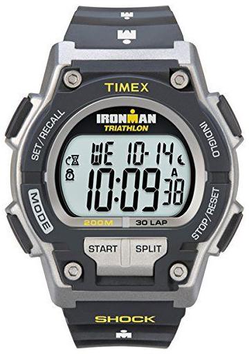 Timex Ironman Herrklocka T5K195SU LCD/Gummi Ø42 mm
