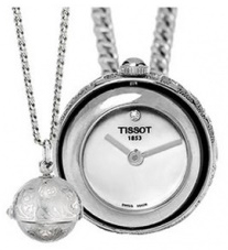 Tissot T-Pocket Pendants T81.6.220.96 Vit Ø21 mm