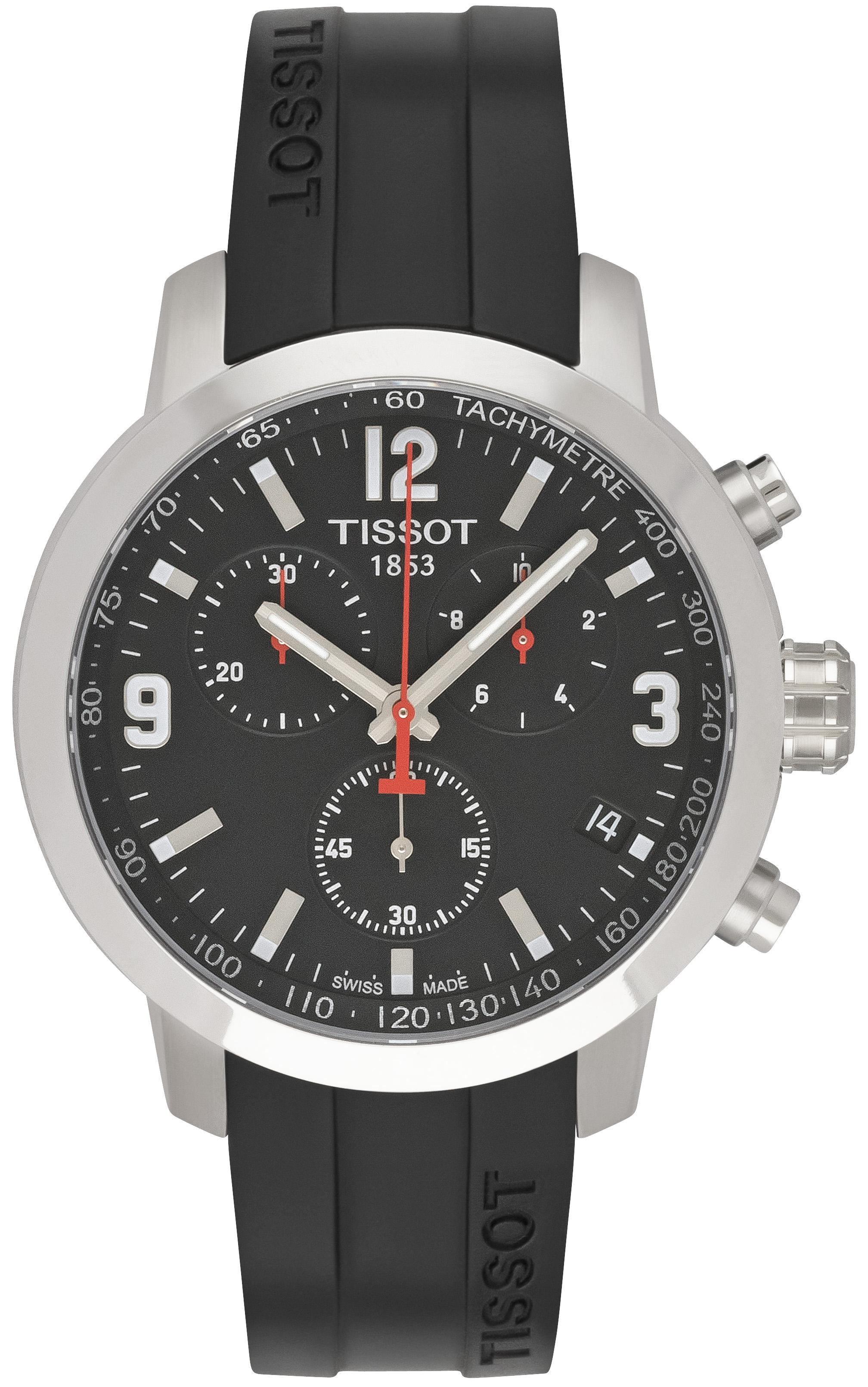 Tissot T-Sport PRC 200 Herrklocka T055.417.17.057.00 Svart/Gummi Ø41