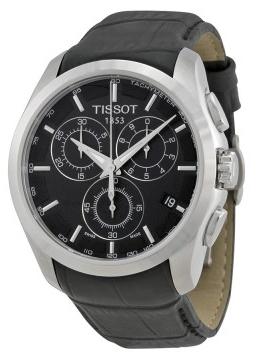 Tissot T-Trend Couturier Herrklocka T035.617.16.051.00 Svart/Läder