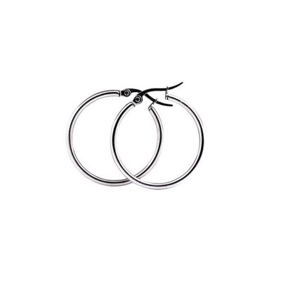 Everneed Mille Small Hoop Örhängen Silver 15 mm