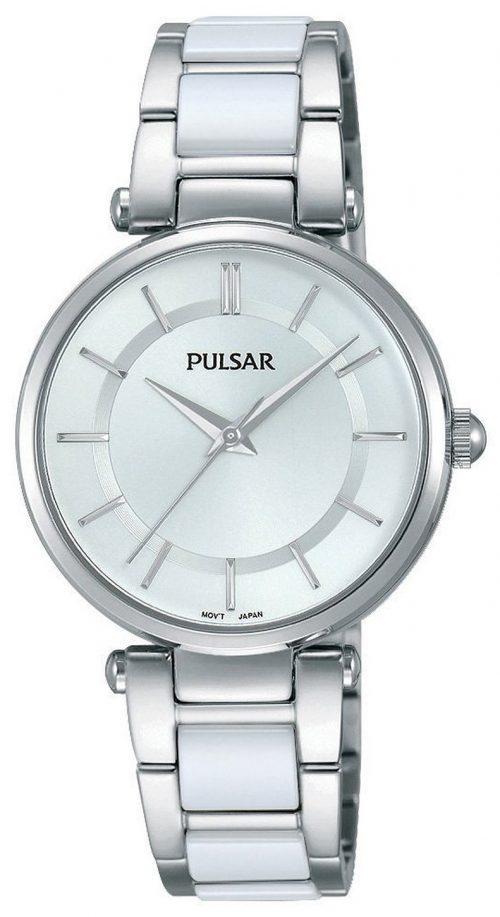 Pulsar Dress Damklocka PH8191X1 Silverfärgad/Stål Ø30 mm