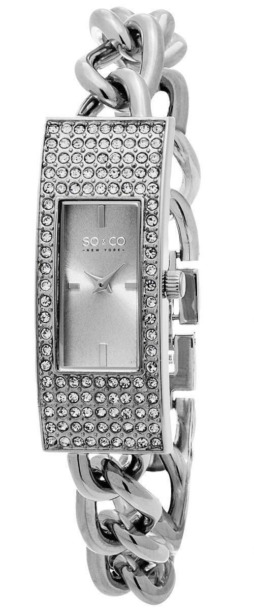 So & Co New York Madison Damklocka 5058.1 Silverfärgad/Stål