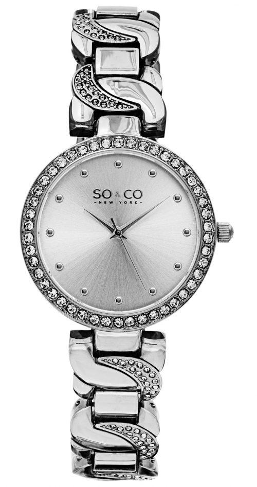 So & Co New York SoHo Damklocka 5062.1 Silverfärgad/Stål Ø36 mm