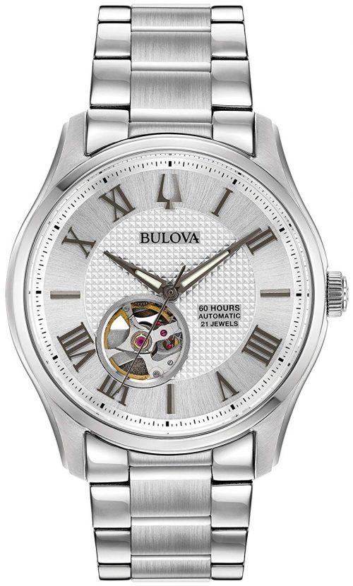 Bulova Classic Herrklocka 96A207 Silverfärgad/Stål Ø42 mm
