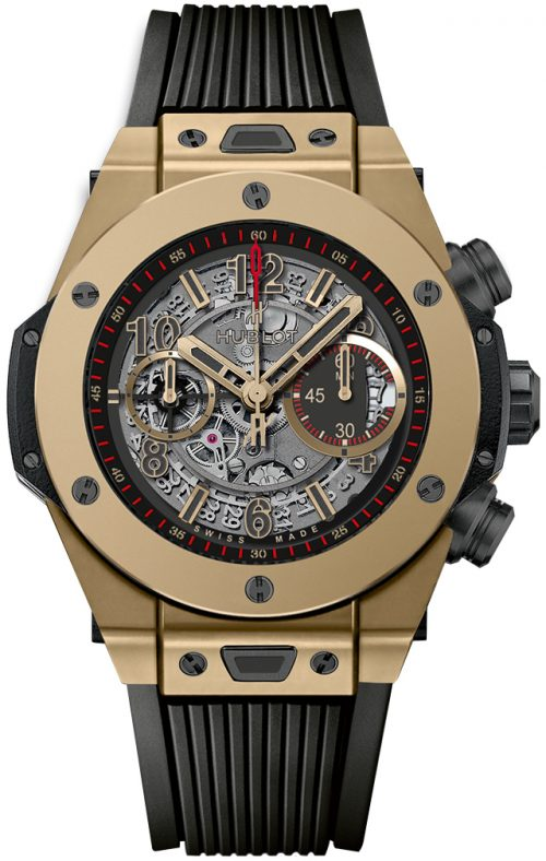 Hublot Big Bang 45Mm Herrklocka 411.MX.1138.RX Silverfärgad/Gummi