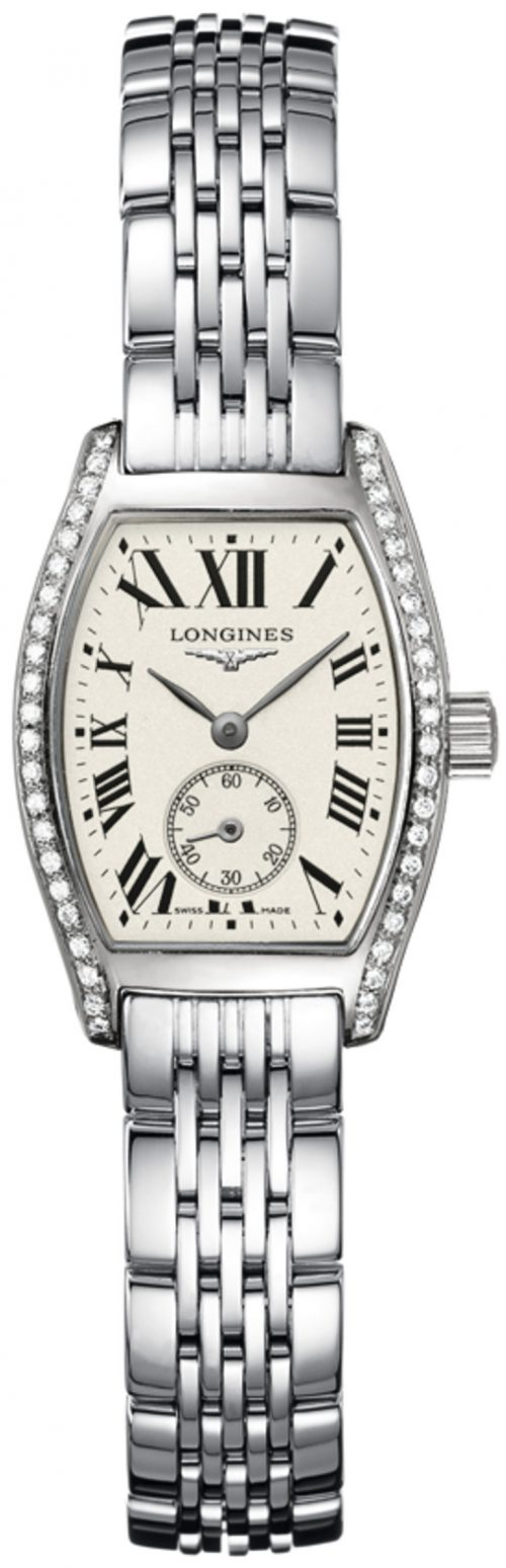 Longines Evidenza Damklocka L2.175.0.71.6 Silverfärgad/Stål