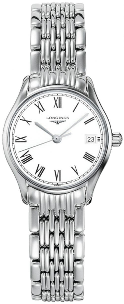 Longines Lyre Damklocka L4.259.4.11.6 Vit/Stål Ø25 mm