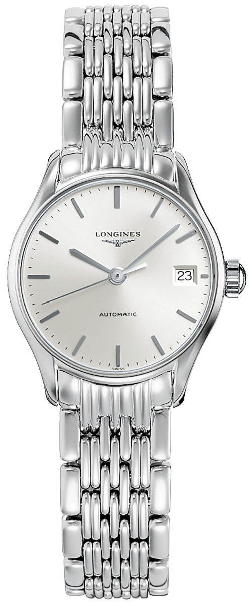 Longines Lyre Damklocka L4.360.4.72.6 Silverfärgad/Stål Ø25 mm
