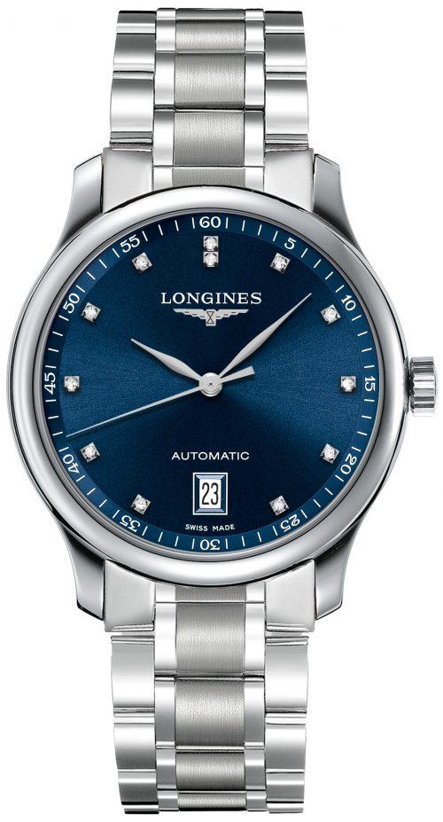 Longines Master Herrklocka L2.628.4.97.6 Blå/Stål Ø38.5 mm