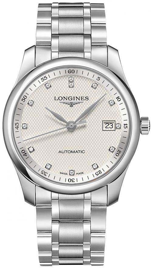 Longines Master Herrklocka L2.793.4.77.6 Silverfärgad/Stål Ø40 mm