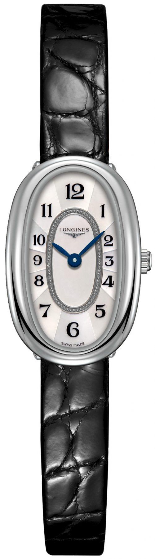 Longines Symphonette Damklocka L2.304.4.83.0 Vit/Läder Ø16 mm