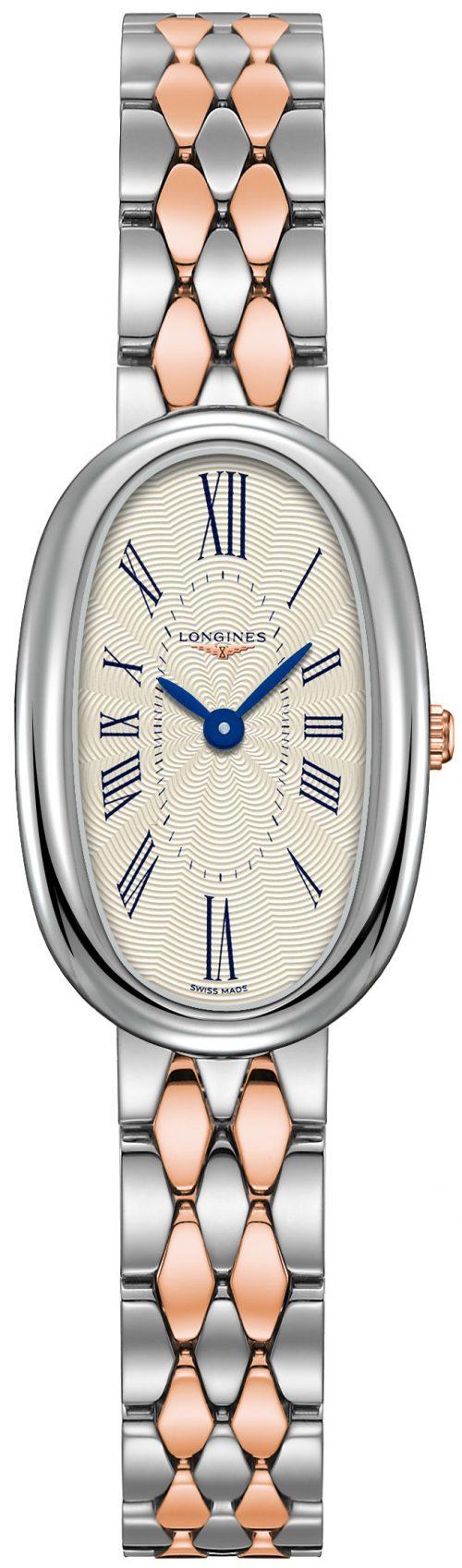Longines Symphonette Damklocka L2.305.5.71.7 Silverfärgad/18 karat