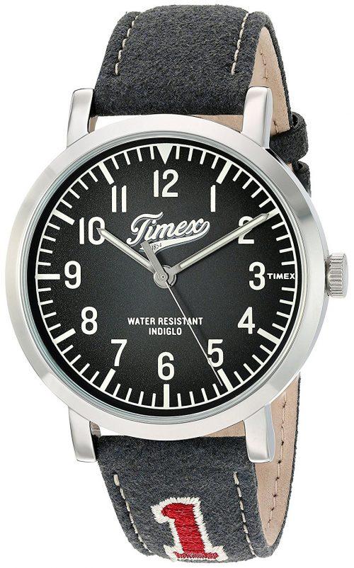 Timex 99999 Herrklocka TW2P92500 Grå/Läder Ø42 mm