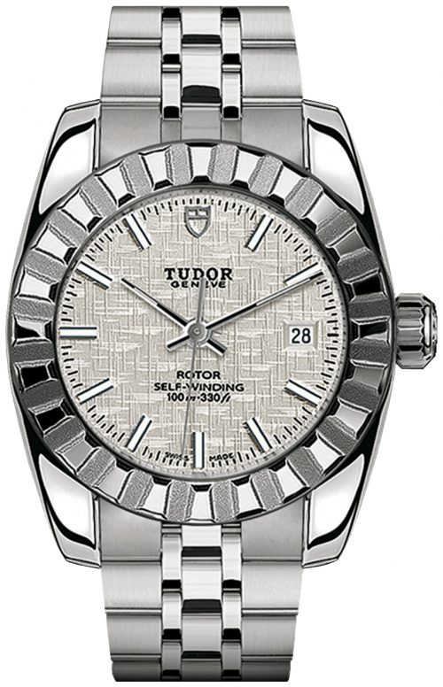 Tudor Classic Date Damklocka 22010-0011 Silverfärgad/Stål Ø28 mm