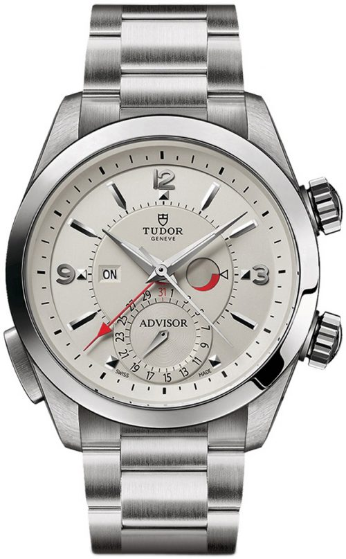 Tudor Heritage Advisor Herrklocka 79620t-0001 Silverfärgad/Stål