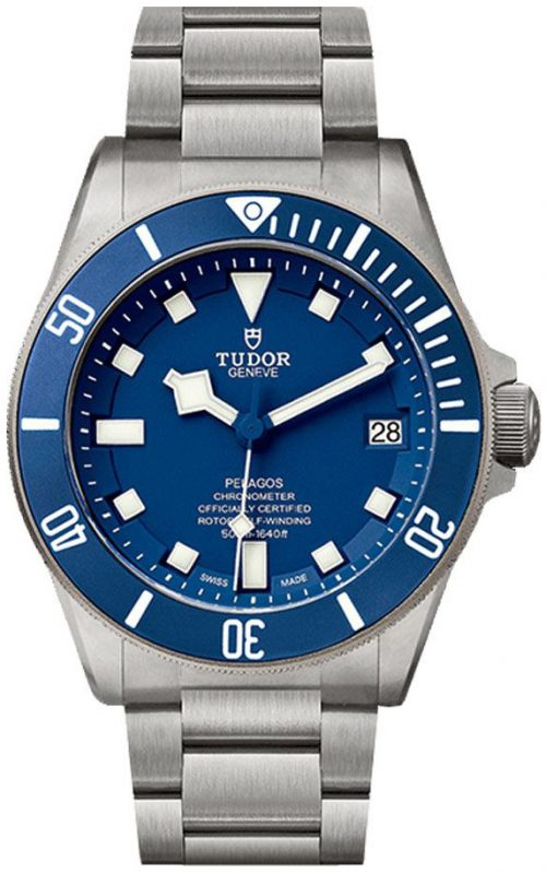 Tudor Pelagos Herrklocka 25600tb-0001 Blå/Titan Ø42 mm