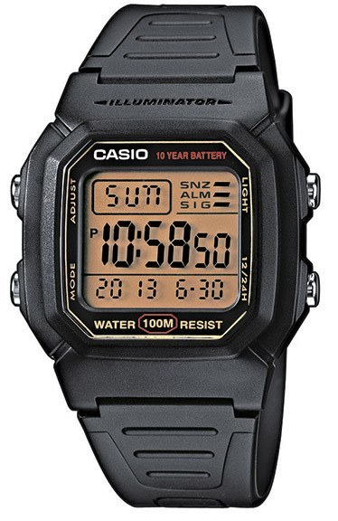 Casio Casio Collection Herrklocka W-800HG-9AVES Resinplast 44.2x36.8