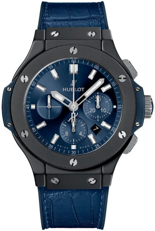 Hublot Big Bang 44mm Herrklocka 301.CI.7170.LR Blå/Gummi Ø44 mm