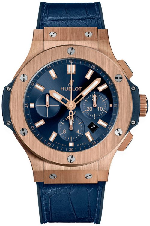 Hublot Big Bang 44mm Herrklocka 301.PX.7180.LR Blå/Gummi Ø44 mm