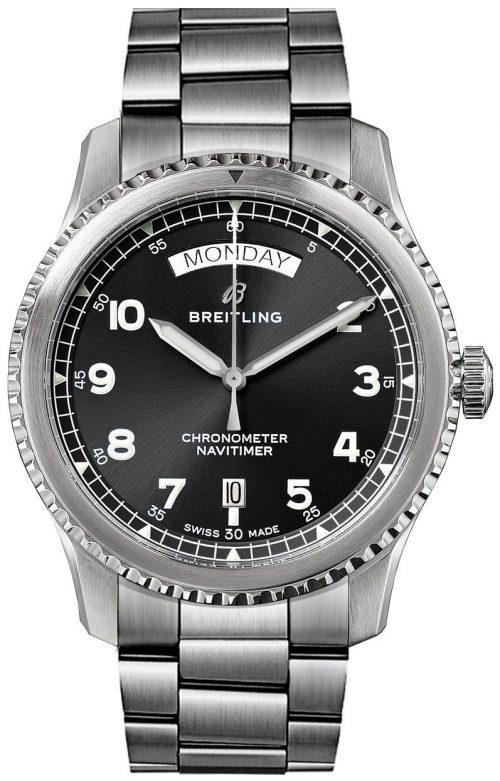 Breitling Navitimer Automatic Day Date Herrklocka A45330101B1A1