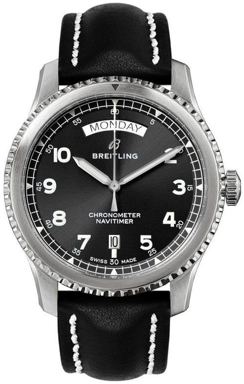 Breitling Navitimer Automatic Day Date Herrklocka A45330101B1X1