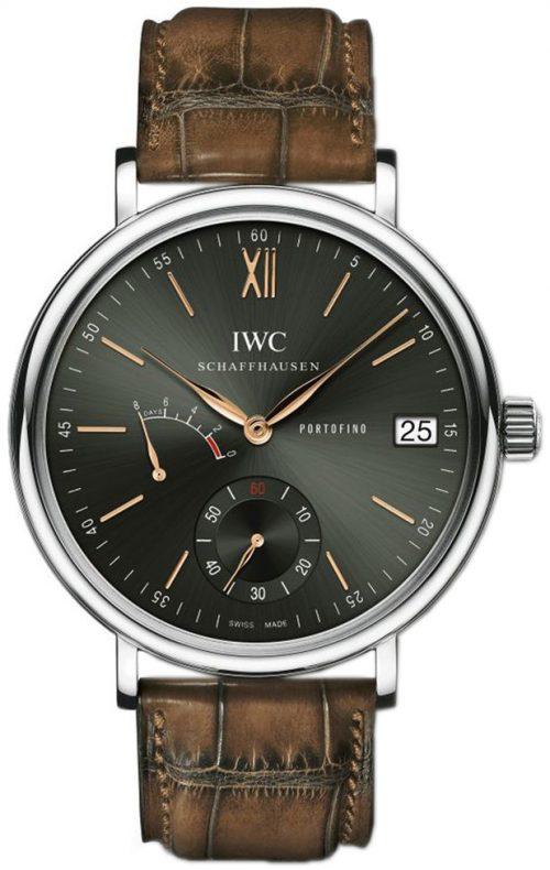 IWC Portofino Herrklocka IW510117 Grön/Läder Ø45 mm