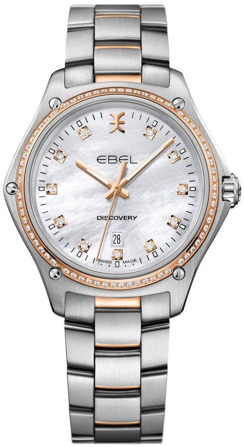 Ebel Discovery Damklocka 1216398 Silverfärgad/18 karat roséguld