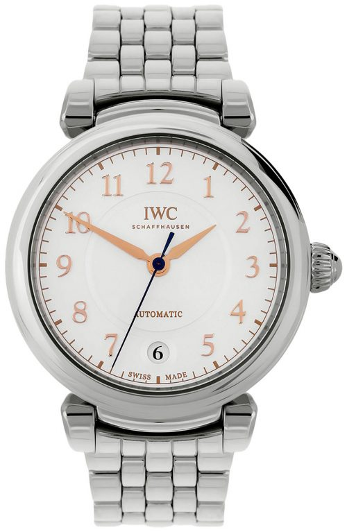 IWC Da Vinci Damklocka IW458307 Silverfärgad/Stål Ø36 mm