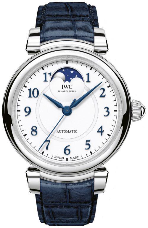 IWC Da Vinci Damklocka IW459306 Silverfärgad/Läder Ø36 mm