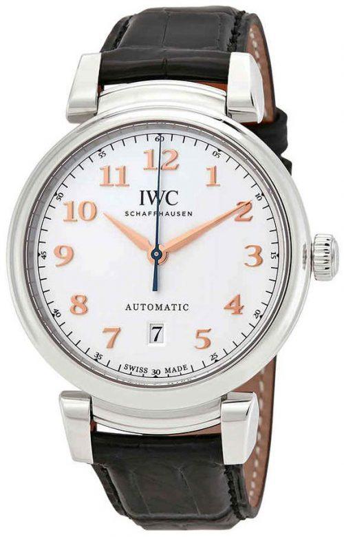 IWC Da Vinci Herrklocka IW356601 Silverfärgad/Läder Ø40 mm