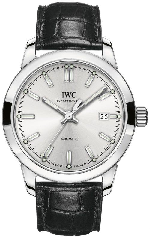 IWC Ingenieur Herrklocka IW357001 Silverfärgad/Läder Ø40 mm