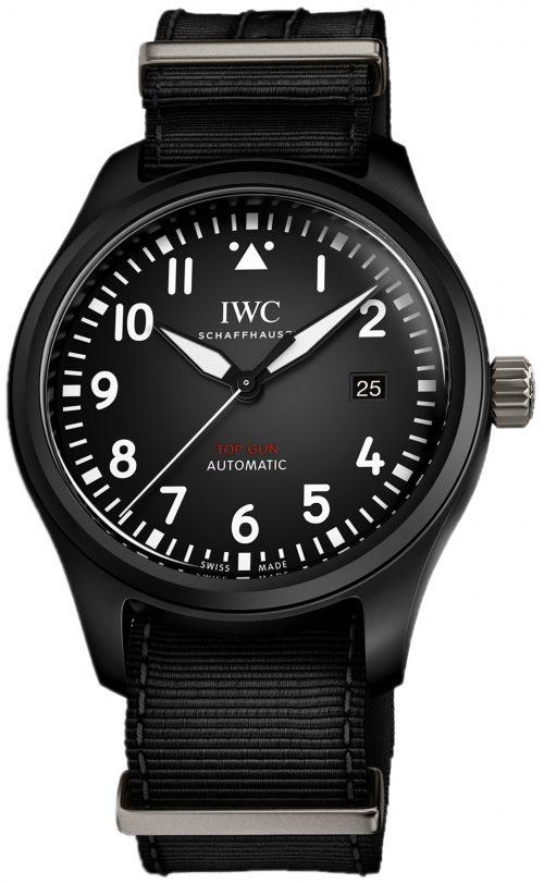 IWC Pilots Herrklocka IW326901 Svart/Textil Ø41 mm
