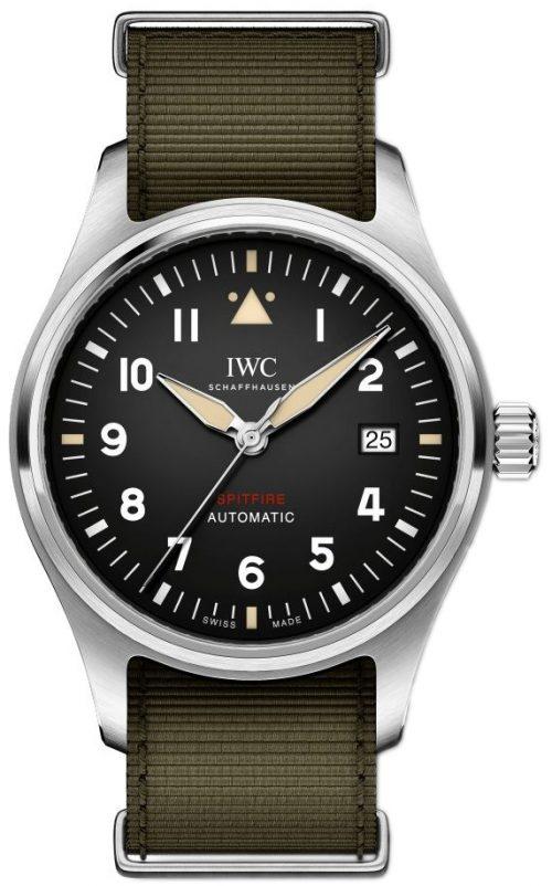 IWC Pilots Spitfire Herrklocka IW326801 Svart/Textil Ø39 mm
