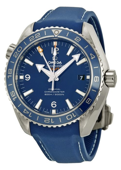 Omega Seamaster Planet Ocean 600m Co-Axial GMT 43.5mm Herrklocka