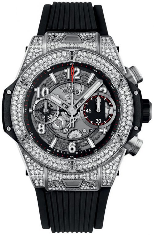 Hublot Big Bang 42Mm 441.NX.1170.RX.1704 Skelettskuren/Gummi Ø42 mm